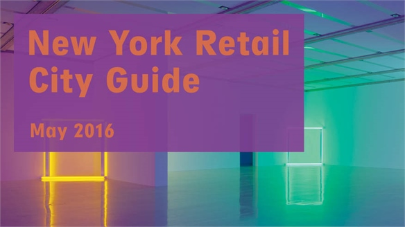 Retail City Guide: NYC, May 2016