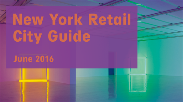 Retail City Guide: NYC, June 2016