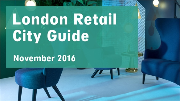 Retail City Guide: London, November 2016