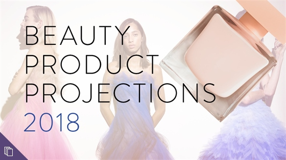 Beauty Product Projections 2018