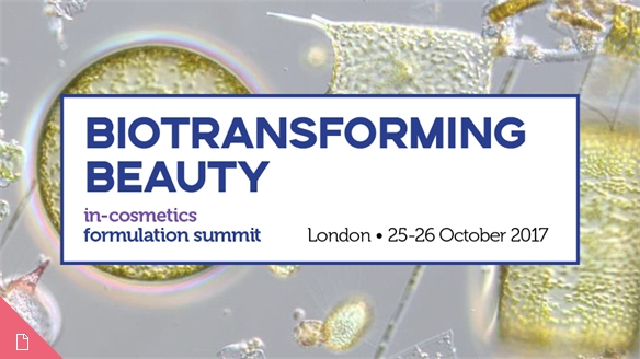 In-Cosmetics Formulations Summit 2017
