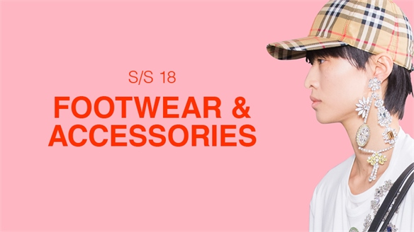 S/S 18: Footwear & Accessories Edit