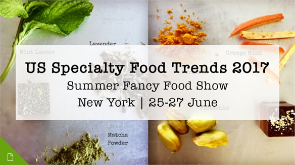 US Specialty Food Trends 2017