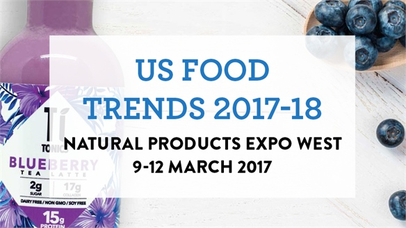 US Food Trends 2017/18: Natural Products Expo West