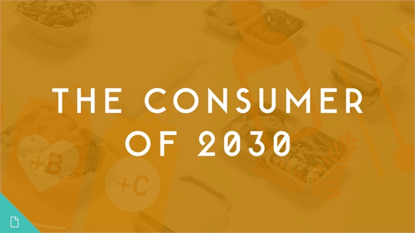 Fast Consumption Scenario: The Consumer of 2030