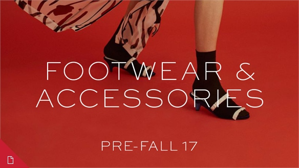 Pre-Fall 17 Footwear & Accessories Edit