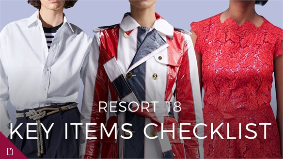 Resort 18: Key Items Checklist