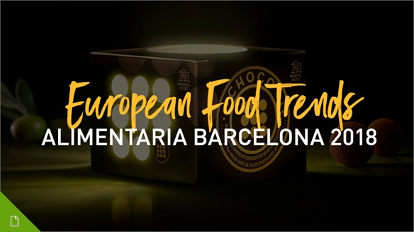 European Food Trends: Alimentaria 2018