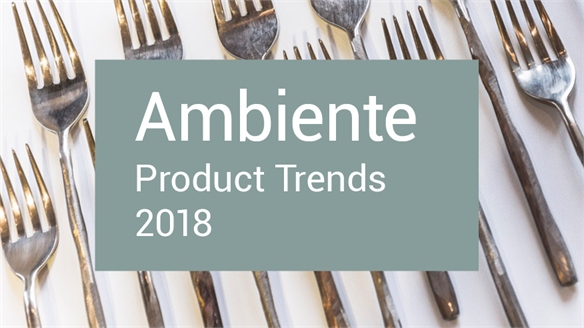 Ambiente 2018: Product Trends