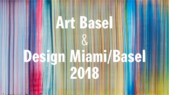 Art Basel & Design Miami/Basel 2018