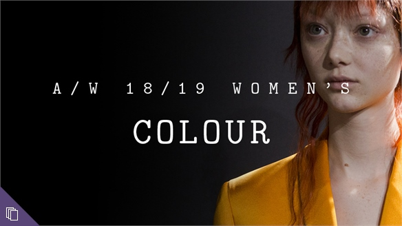 A/W 18/19 Women's: Colour