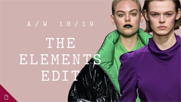 A/W 18/19: The Elements Edit