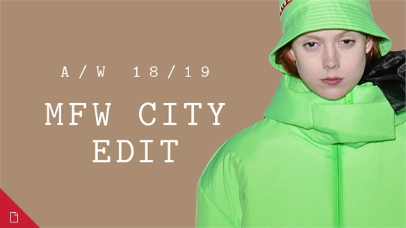 A/W 18/19: Milan City Edit