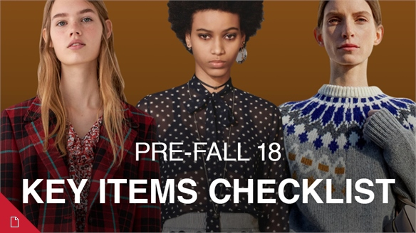 Pre-Fall 18: Key Items Checklist