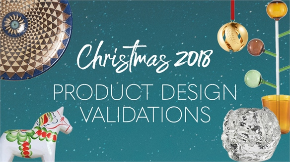 Christmas 2018: Product Design Validations