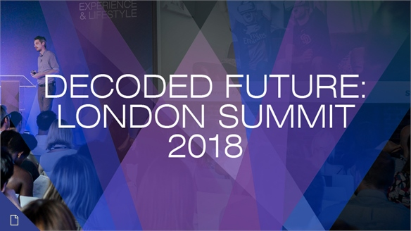 Decoded Future, London: Creative Innovation Summit