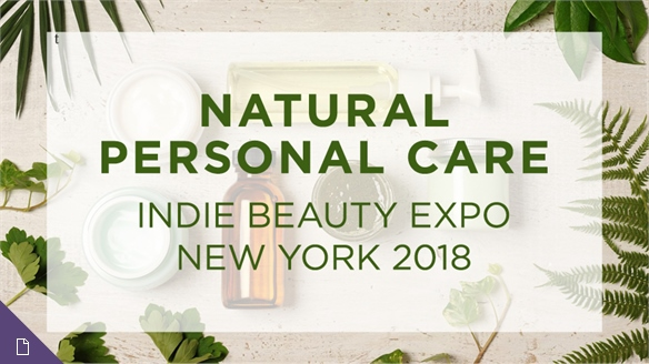 Indie Beauty Expo NY 2018