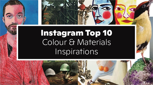 Instagram Top 10: Colour & Materials Inspirations