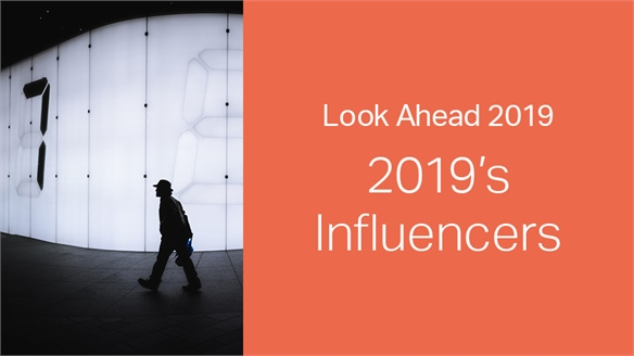 2019: Look Ahead – Influencers