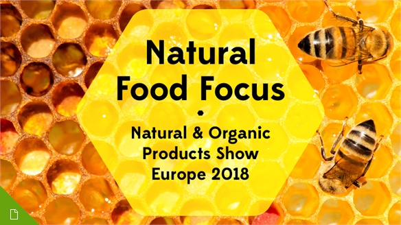 Natural Food Focus: Natural & Organic Products Europe 2018