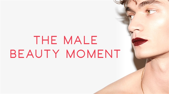 The Male Beauty Moment