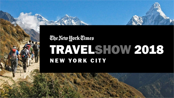 Tourism's Hot Topics: The New York Times Travel Show 2018