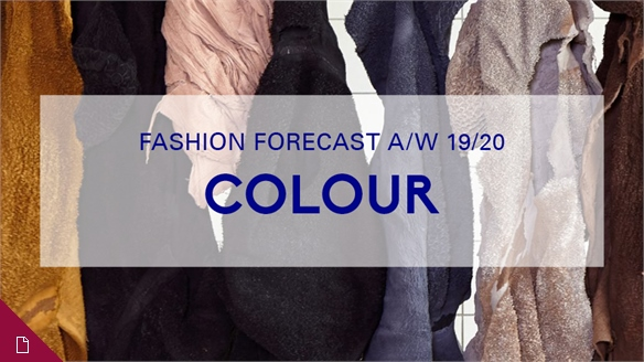 Fashion Forecast A/W 19/20: Colour