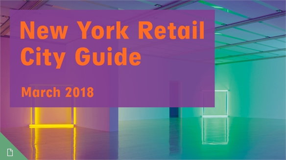 Retail City Guide: NYC, March 2018