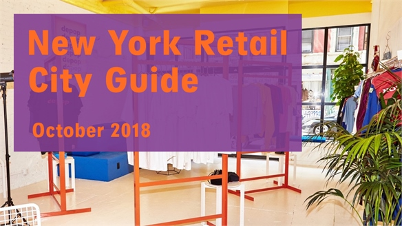 Retail City Guide: NYC, October 2018