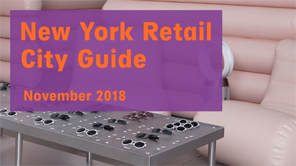 Retail City Guide: NYC, November 2018