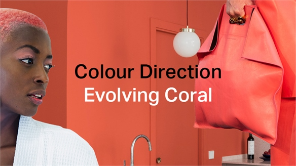 Colour Direction: Evolving Coral