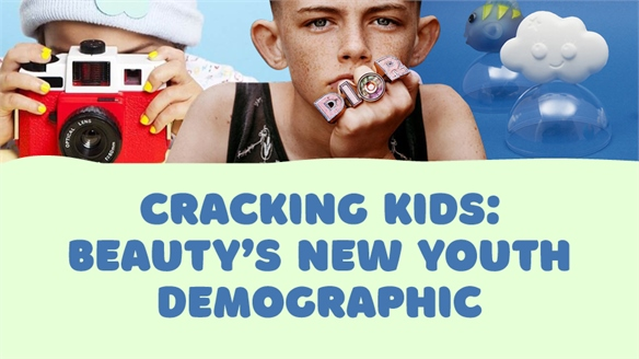 Cracking Kids: Beauty's New Youth Demographic