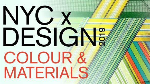 NYC x Design 2019: Colour & Materials
