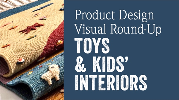 Product Design Visual Round-Up: Toys & Kids' Interiors