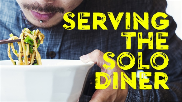 Serving the Solo Diner