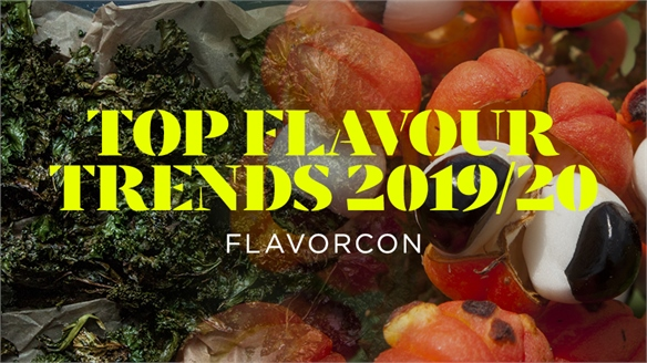 Top Flavour Trends 2019/20: Flavorcon
