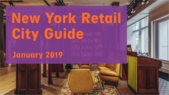 Retail City Guide: New York, January 2019