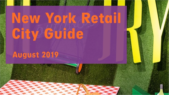 Retail City Guide: New York, August 2019