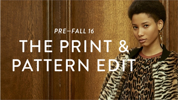 Pre-Fall 16: The Print & Pattern Edit
