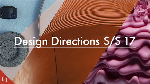 Product Design: Design Directions S/S 17