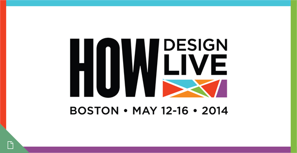 How Design Live Conference, Boston, 2014