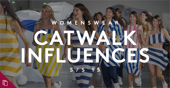Womenswear Catwalk Influencers S/S 15