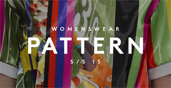 Women's Catwalk S/S 15: Pattern
