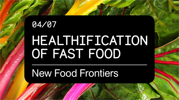 Healthification of Fast Food