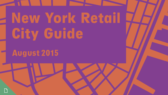 Retail City Guide: NYC, August 2015
