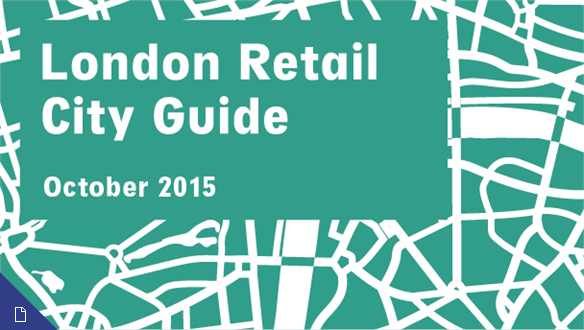 Retail City Guide: London, October 2015