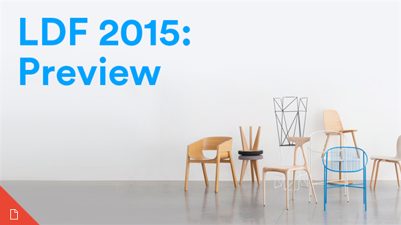 London Design Festival 2015: Preview