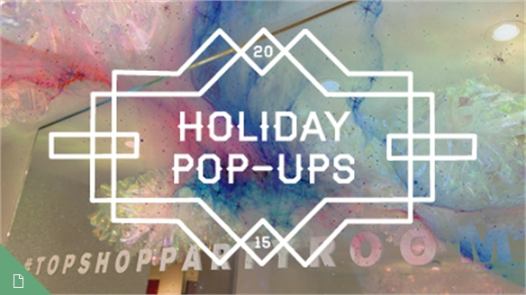 Holiday Pop-Ups, 2015