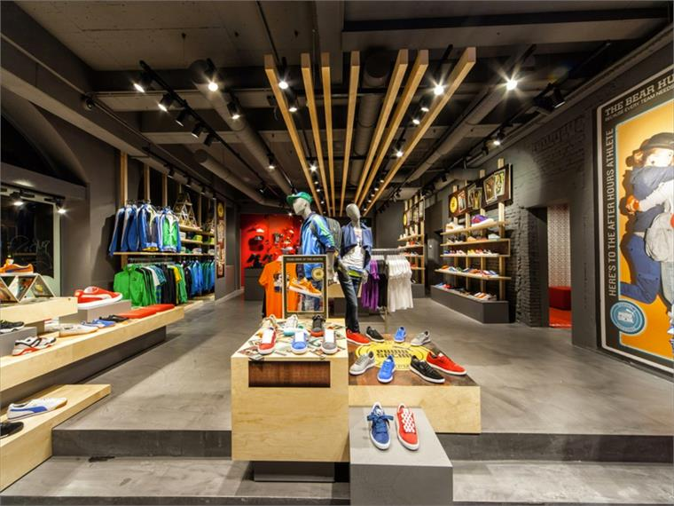 Shoes store interior design
