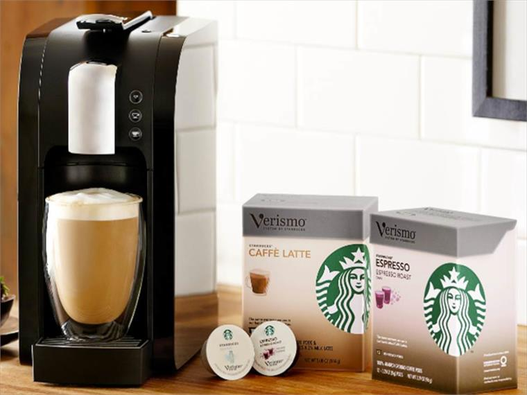 Verismo Coffee Machine: Starbucks at Home Stylus Innovation Research & Advisory